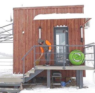 Белорус построил свой собственный компактный минидом