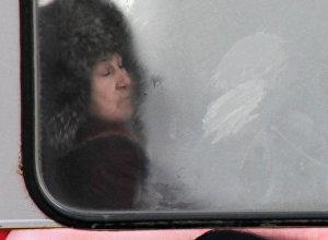 Autobusa pasažieri