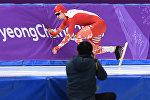 Конькобежец Артур Ногаль
