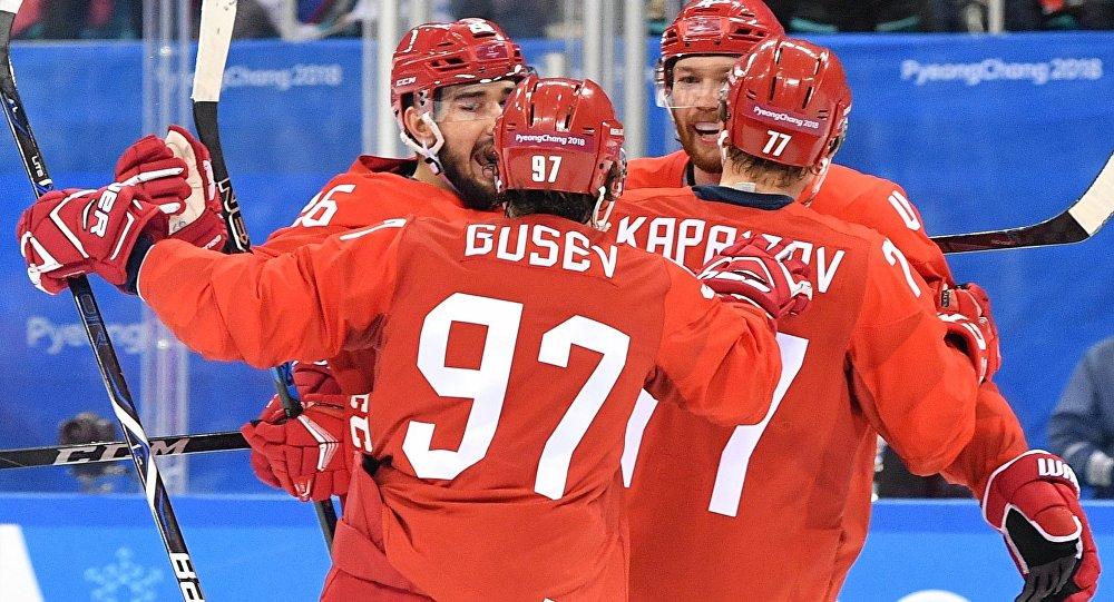 Сборная РФ разбила команду Норвегии ивышла вполуфинал