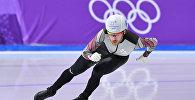 Латвийский конькобежец Харальдс Силовс на XXIII Зимних Олимпийских играх в Пхенчхане