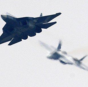 Krievijas daudzfunkcionālais piektās paaudzes iznīcinātājs T-50, jeb Su-57