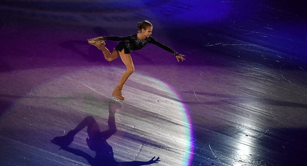 Aleksandra Trusova. Foto no arhīva