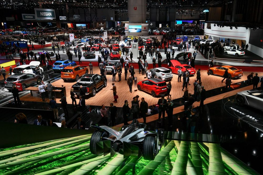 Автосалон Geneva International Motor Show 2018 в Женеве, Швейцария