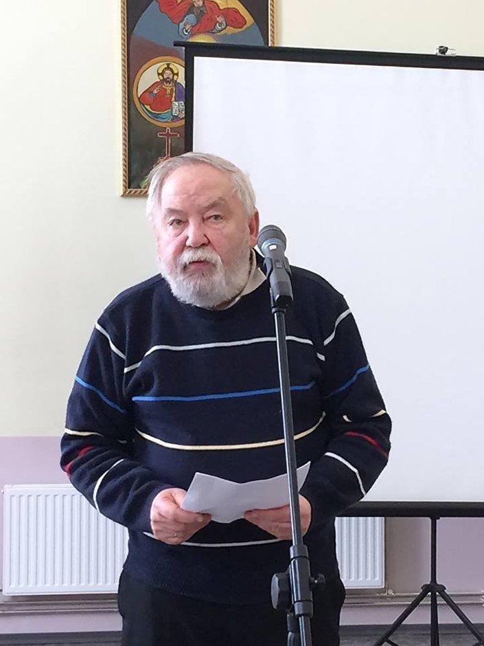 Председатель правления организации Daugavas vanagi Гунар Сподрис