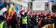 Марш легионеров СС в Риге