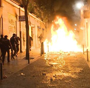 Беспорядки на улицах Мадрида