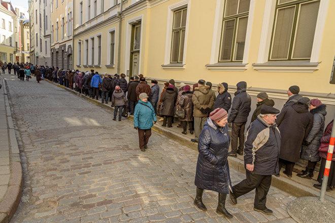Досрочные выборы президента России в российском посольстве в Таллинне