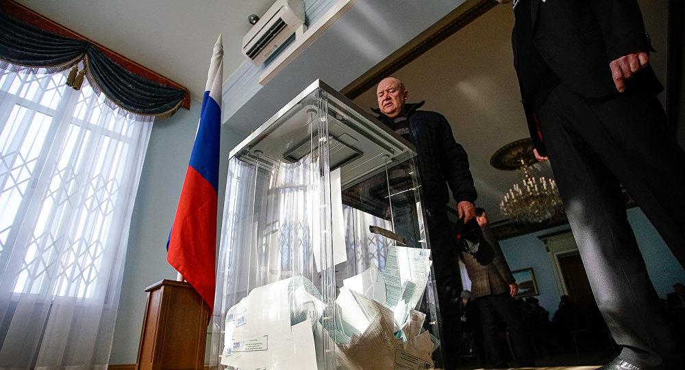 В Латвии за Владимира Путина проголосовали почти 95% избирателей