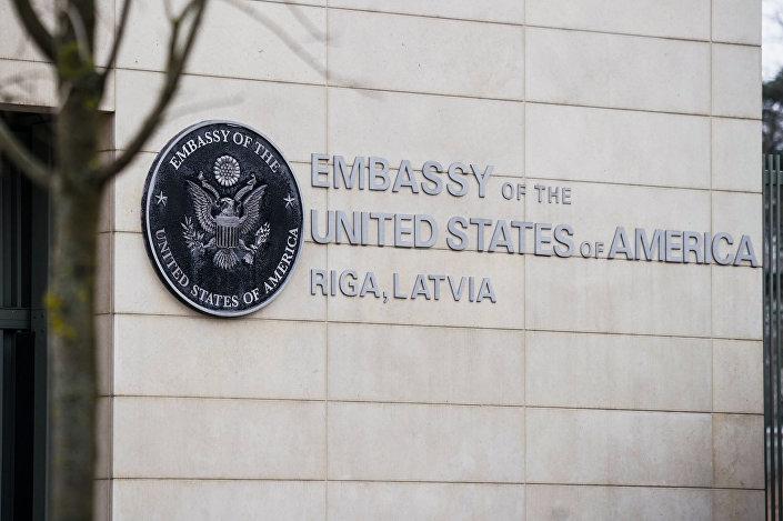 Посольство США в Риге