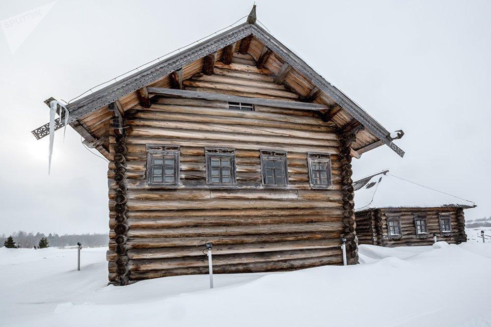 Beļajeva māja Kižu muzejā-rezervātā
