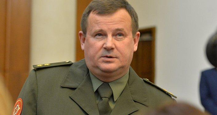 Baltkrievijas aizsardzības ministrs Andrejs Ravkovs