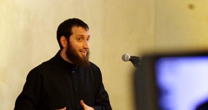 Bijušais Latvijas Islāma kultūras centra vadītājs Oļegs Petrovs. Foto no arhīva