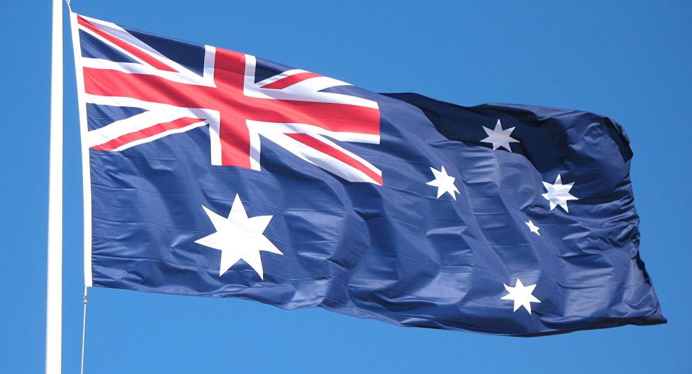 Флаг Австралии. Фото из архива