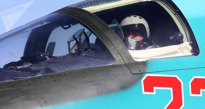 Su-34 sacensībās Aviodarts 2018