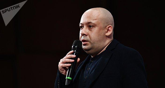 Режиссер Алексей Герман-младший на премьере своего фильма Довлатов