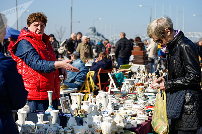 Riga Flea Market 2018