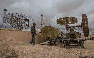 Lokācijas stacijas Sīrijas Gaisa kara spēku bāzē Homsas provincē