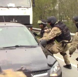 Rostovas apgabalā aizturēja teroristus