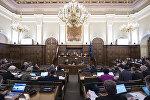 Заседание Сейма Латвии