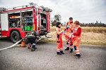 Совместные учения Национальных вооруженных сил (НВС), Службы неотложной медицинской помощи, Госполиции и Государственной пожарно-спасательной службы