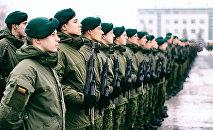 Бравые воины литовской армии