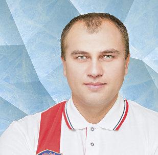 Старший тренер юниорской сборной России по скелетону Сергей Колпаков