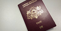 Паспорт гражданина Латвии