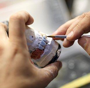Работа клинической стоматологической поликлиники. Архивное фото