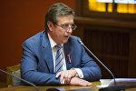 Премьер-министр Латвии Марис Кучинскис, архивное фото