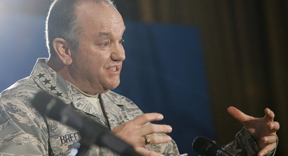 Ģenerālis Filips Marks Brīdlavs. Foto no arhīva