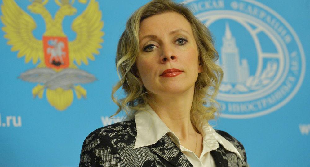 Krievijas Ārlietu ministrijas pārstāve Marija Zaharova. Foto no arhīva