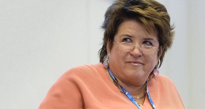 Federālās aģentūras Rossotrudņičestvo vadītāja Ļubova Gļebova