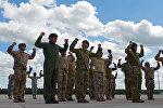 Совместные учения войск НАТО и Латвии