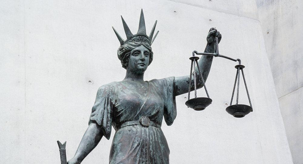 Temīda - taisnās tiesas dieviete