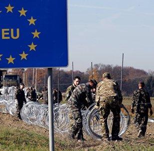 Nožogojumu celšana uz Eiropas robežām