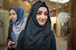 Женщины-мусульманки в хиджабах