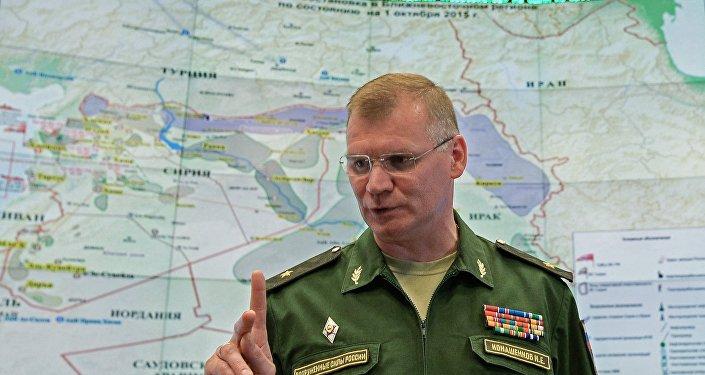 Официальный представитель Министерства обороны РФ Игорь Конашенков. Архивное фото
