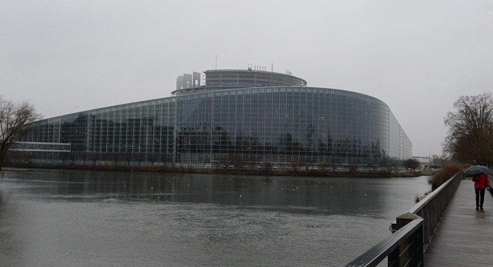 Eiropas Parlamenta ēka.