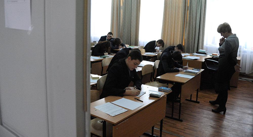 Kontroldarbs skolā