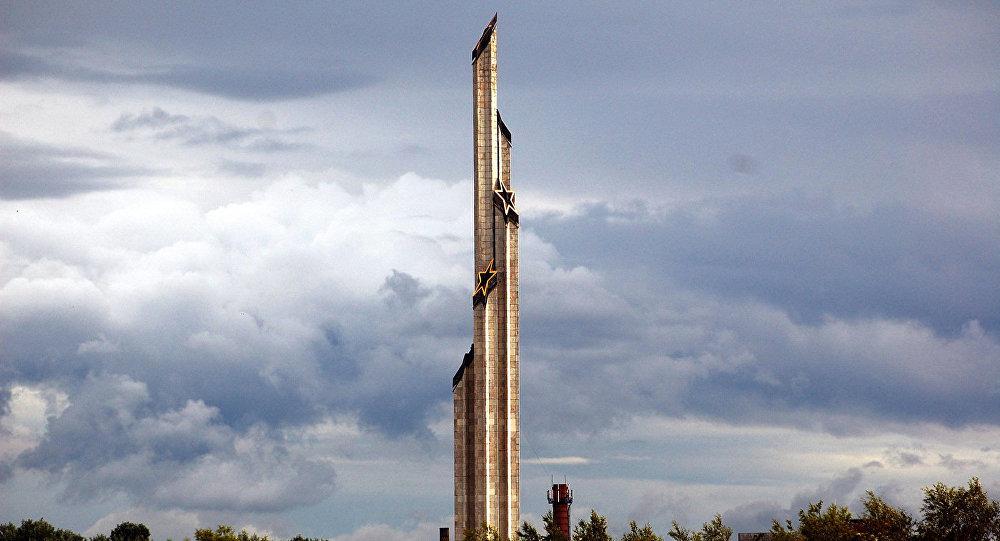 Монумент освободителям Риги от немецко-фашистских захватчиков. Архивное фото