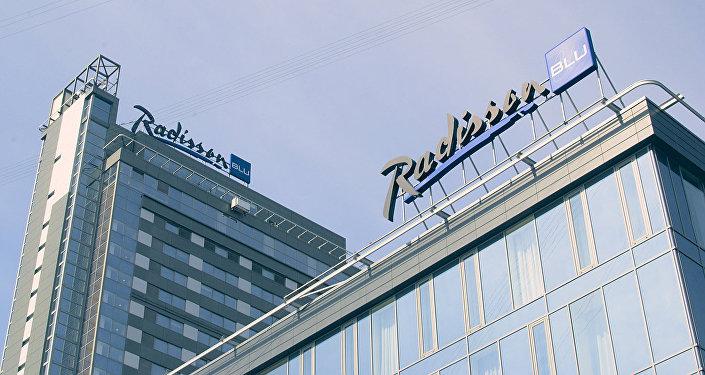 Отель Radisson в Риге