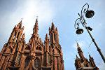 Костел Святой Анны в Вильнюсе, архивное фото