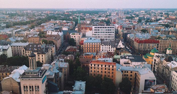 Панорама Риги. Архивное фото