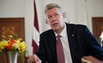 Экс-президент Латвии Валдис Затлерс