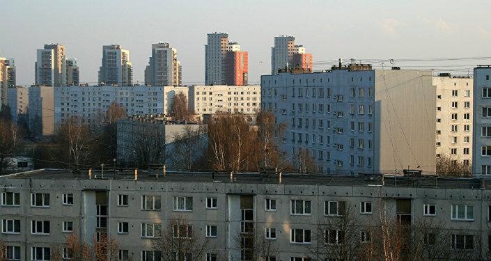 Иманта - жилой район Риги. Архивное фото