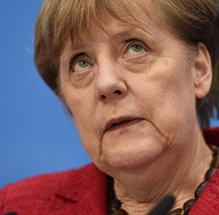 Федеральный канцлер Германии Ангела Меркель, архивное фото