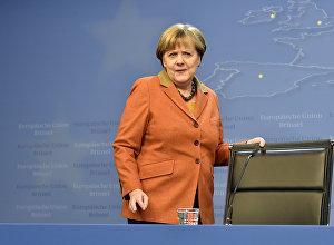 Federālā kanclere Angela Merkele