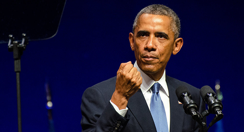 Obama. Foto no arhīva