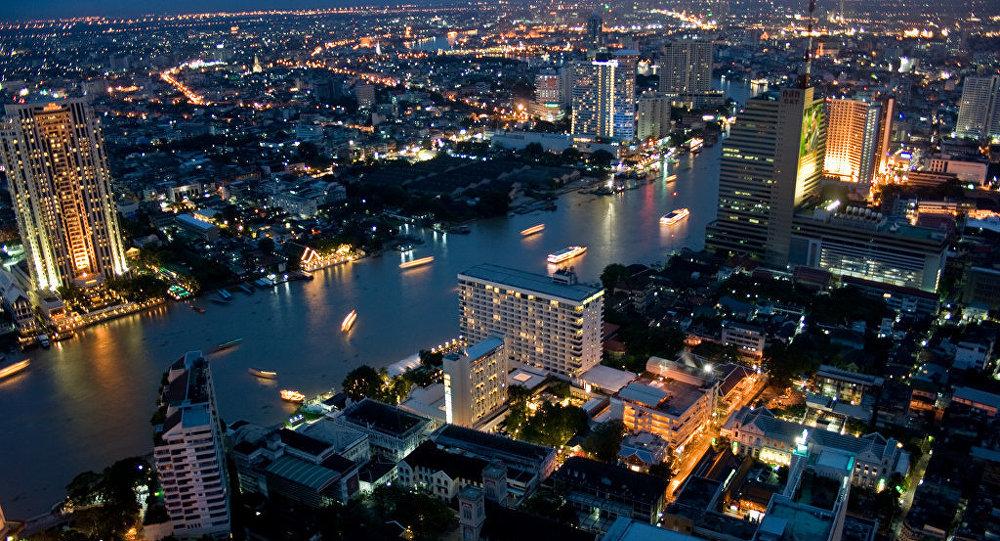 Архивное фото города Бангкок